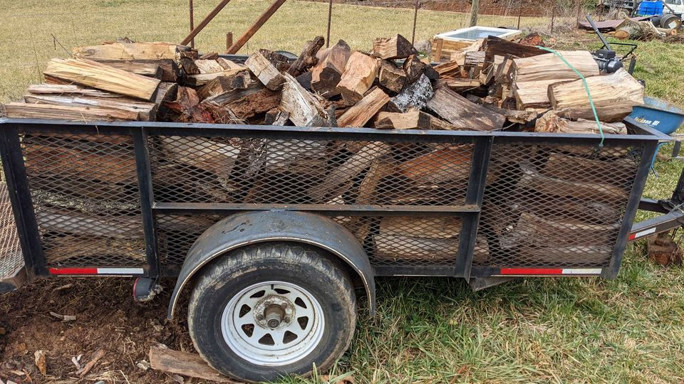 Trailer With Firewood